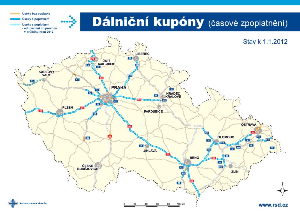 Zpoplatněné silnice - RSD.cz