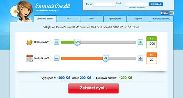 Půjčka Emmas Credit